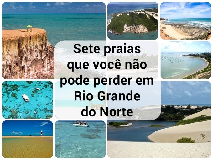 Sete praias no Rio Grande do Norte