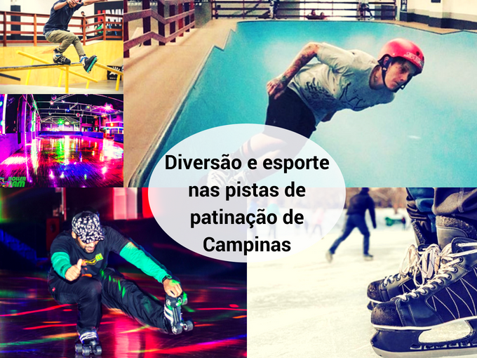Diversão garantida na patinação de Campinas