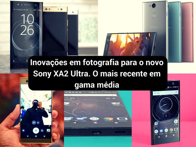 Novo equipamento da Sony para a gama média