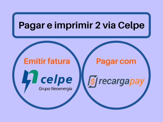 Pagar e imprimir 2 via Celpe