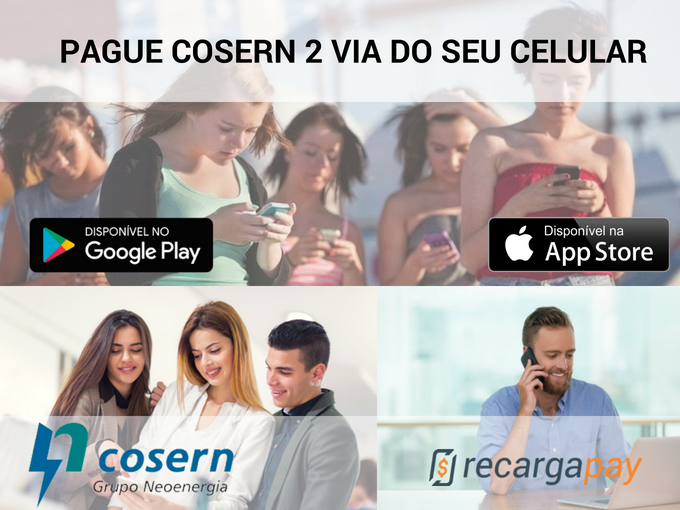 Pagar Cosern 2 via do seu celular
