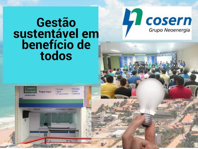 Cosern, uma empresa sustentável