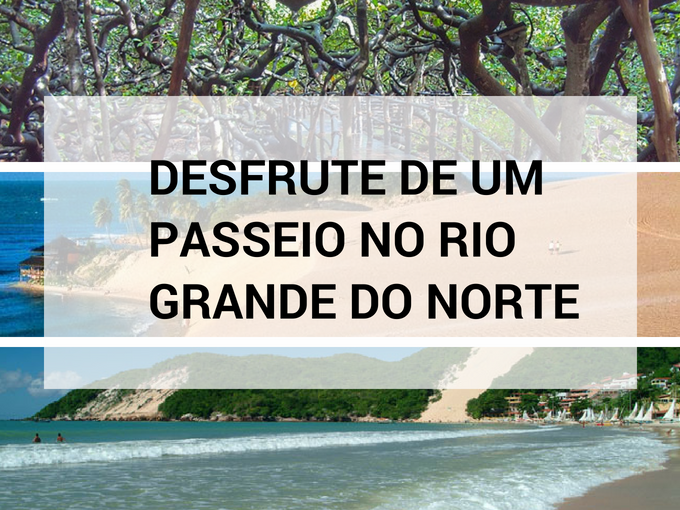 Desfrute de um passeio no Rio Grande do Norte