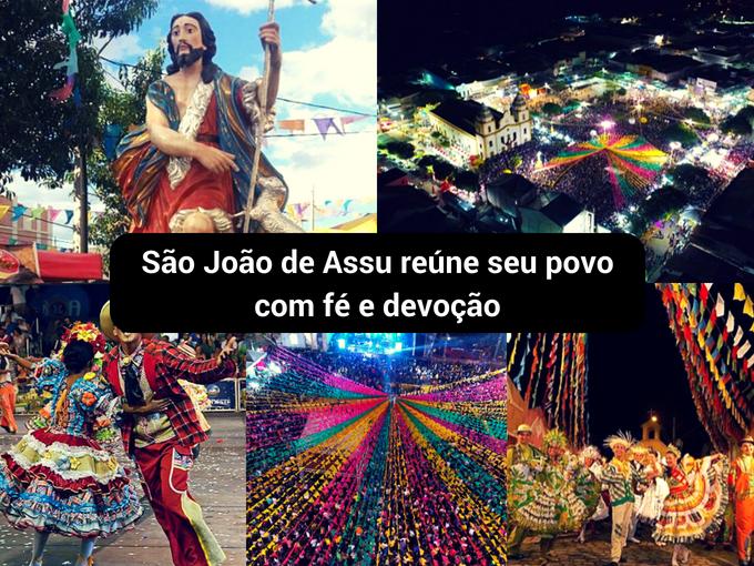 Fieles se concentram para celebrar São João