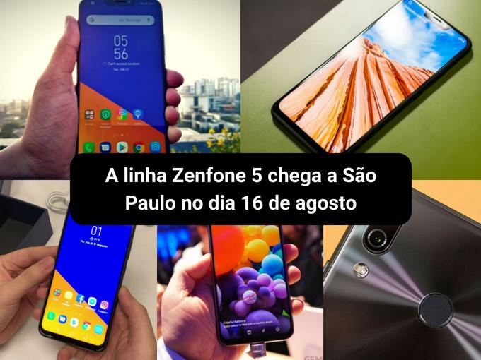 Em breve no Brasil o melhor da Asus Zenfone