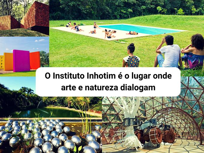 Instituto Inhotim, um lugar para contemplação