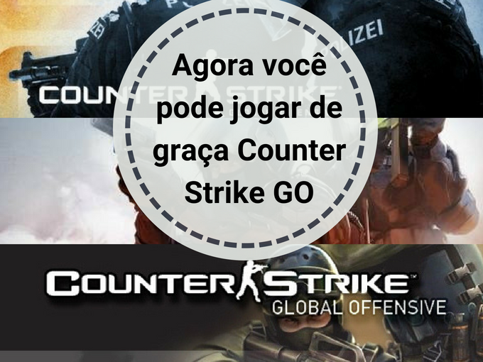 CS GO de graça
