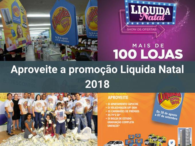 Aproveita as ofertas na Liquida Natal 2018