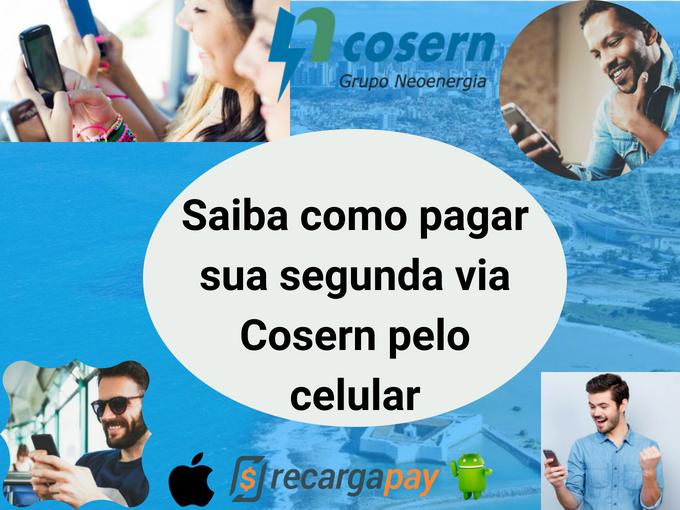 Pague segunda via Cosern