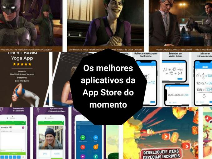 As aplicações mais baixadas da App Store