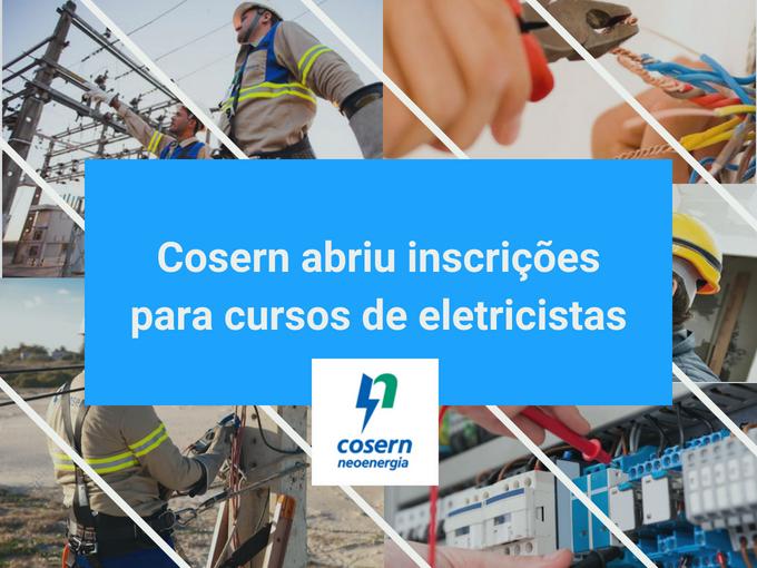 Cosern dará cursos gratuitos para eletricistas