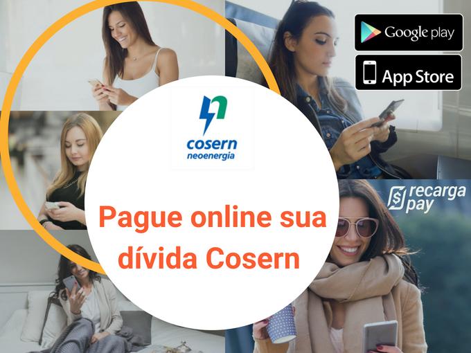 Pague online sua dívida Cosern