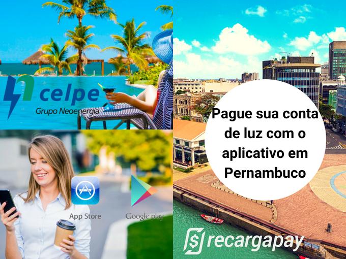Suas contas pagas em Pernambuco