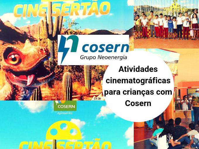 Projeto de cinema móvel para crianças com Cosern