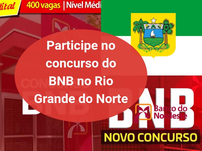 Paricipe no concurso do BNB no RN