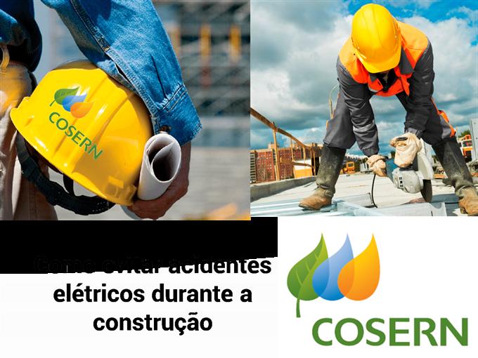 Como evitar acidentes elétricos durante a construção de acordo com a Cosern