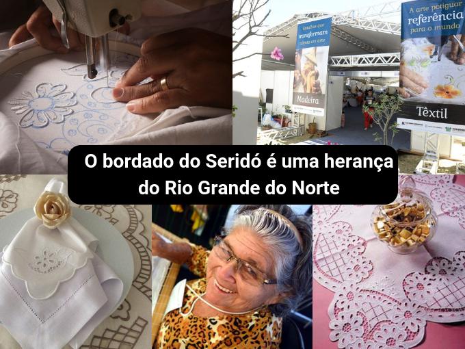 Bordado de Serido é uma manifestação ancestral