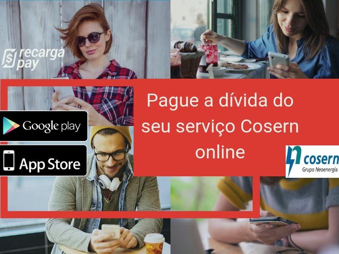 Pague a dívida do seu serviço Cosern online