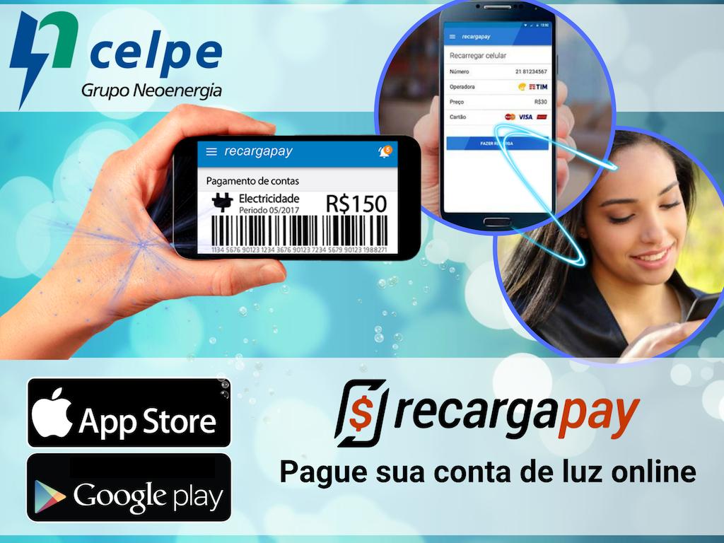 Paga contas Celpe com Recargapay