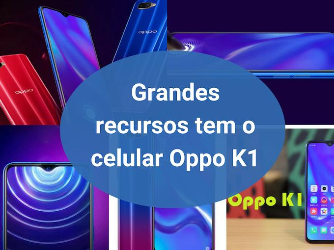 Novo dispositivo Oppo K1