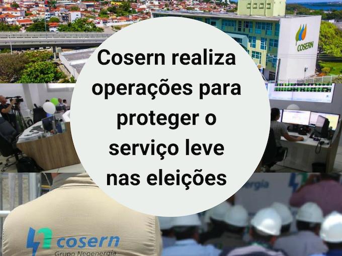 Cosern realiza medidas nas eleições