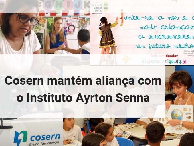 Cosern mantém aliança com o Instituto Ayrton Senna