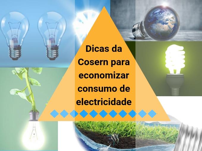 Dicas da Cosern para economizar consumo de electricidade