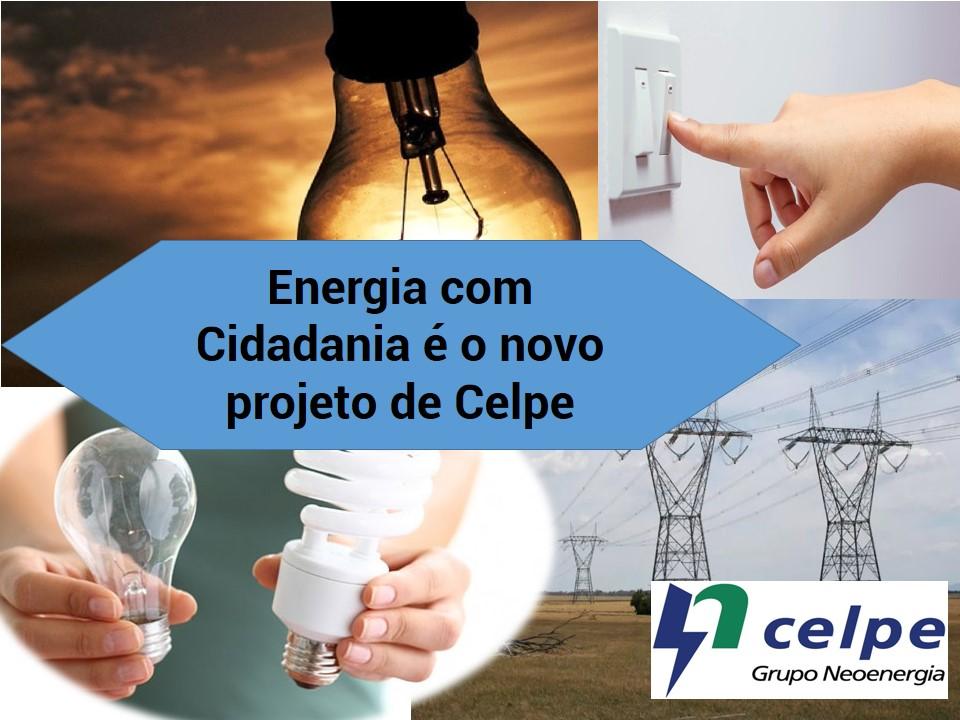 Celpe junta-se ao projeto Energia com Cidadania