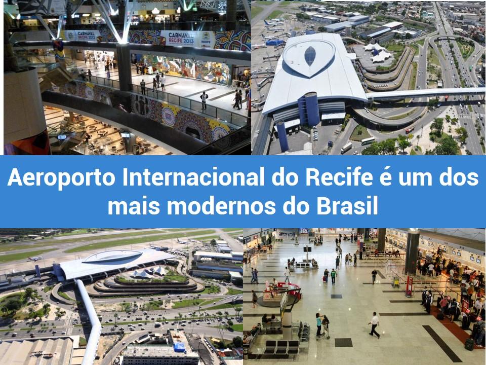 Aeroporto Internacional de Recife com mais tecnologia