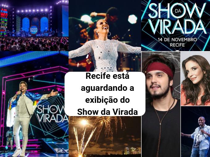 Show da Virada será transmitido em 31 de dezembro