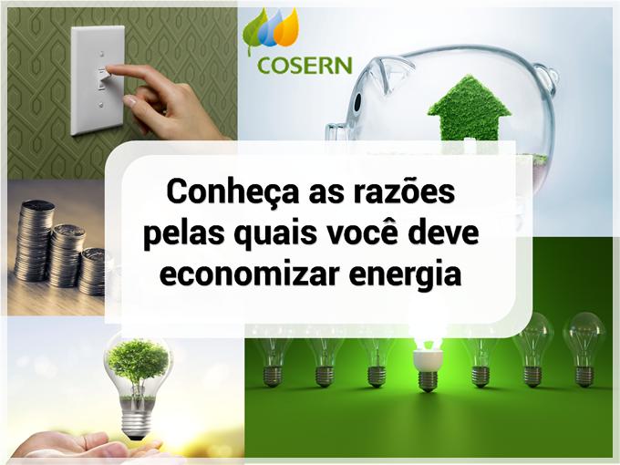 Cosern: Conheça as razões pelas quais você deve economizar energia