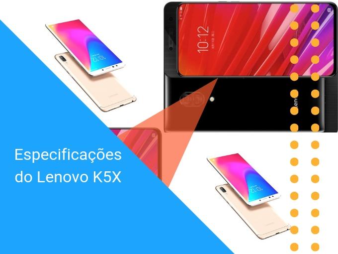Especificações do Lenovo K5X