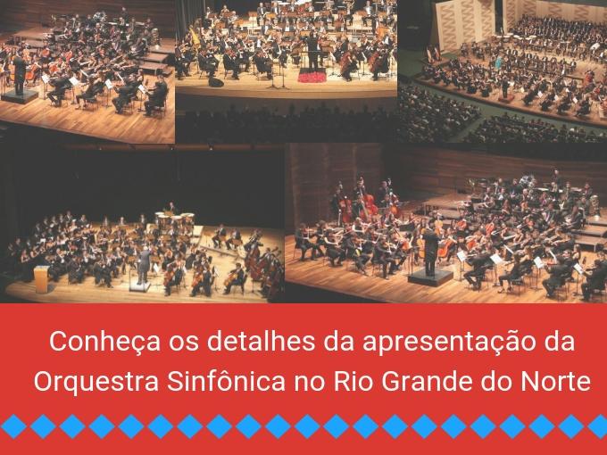 O Rio Grande do Norte curtiu sua Orquestra Sinfônica em novembro!