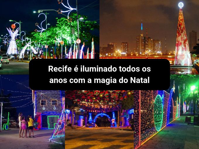 Recife celebra o Natal com luz em suas ruas