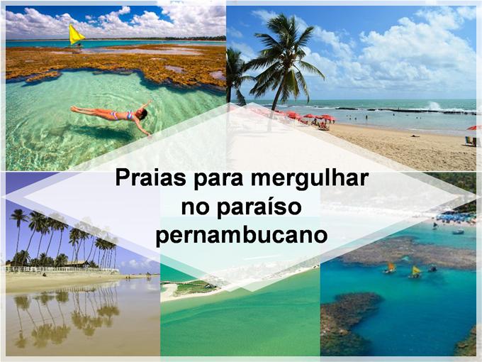 Praias para mergulhar no paraíso pernambucano