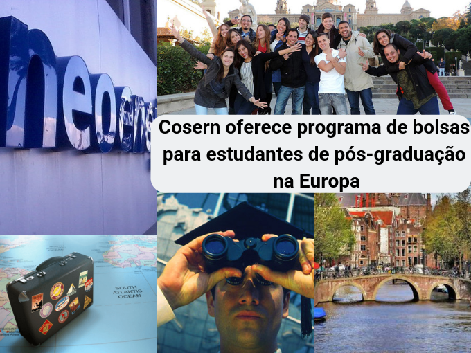 Programa de bolsas de estudo da Cosern na Europa