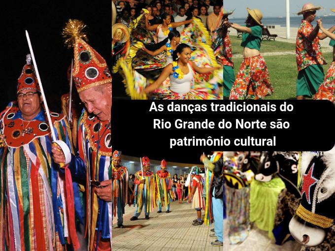As danças típicas do Rio Grande do Norte são muito coloridas
