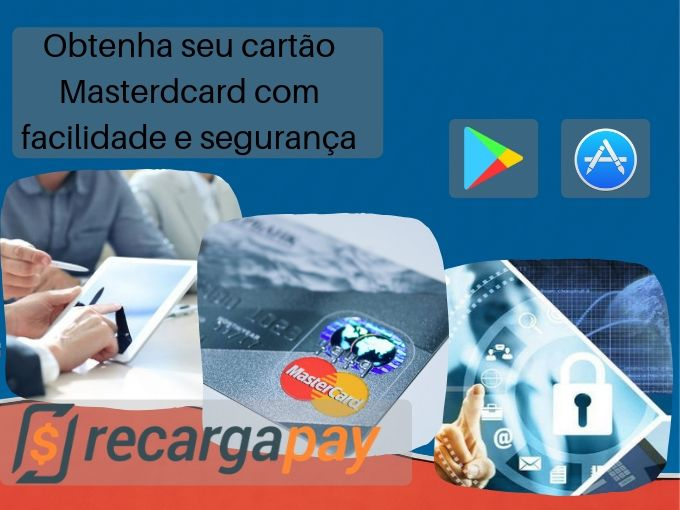 Obtenha seu cartão MasterCard com facilidade