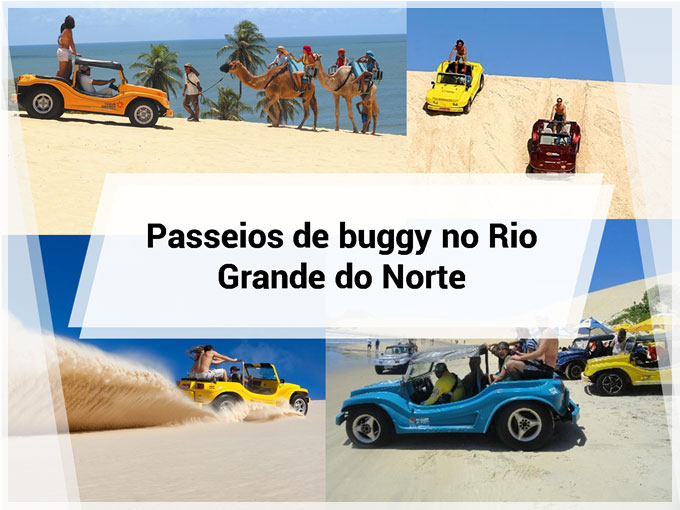 Passeios de buggy no Rio Grande do Norte