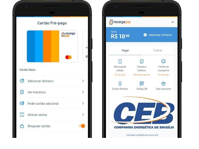 App para fazer pagamento CEB 2 via