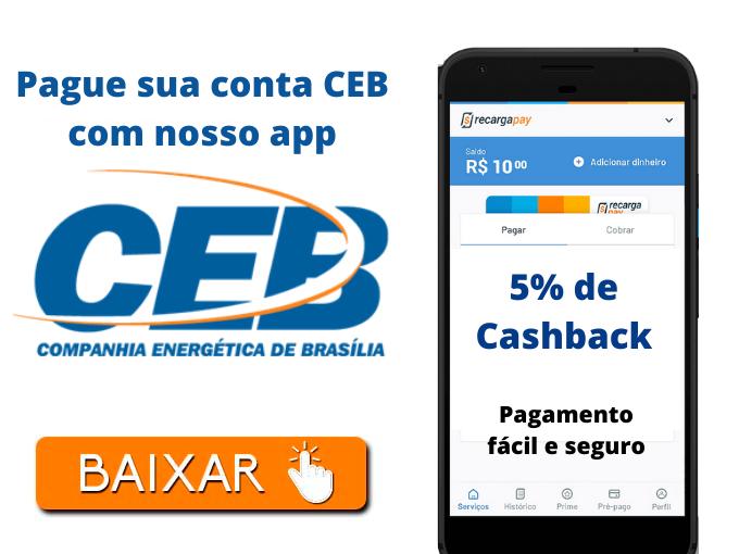 Pague sua conta CEB com nosso app