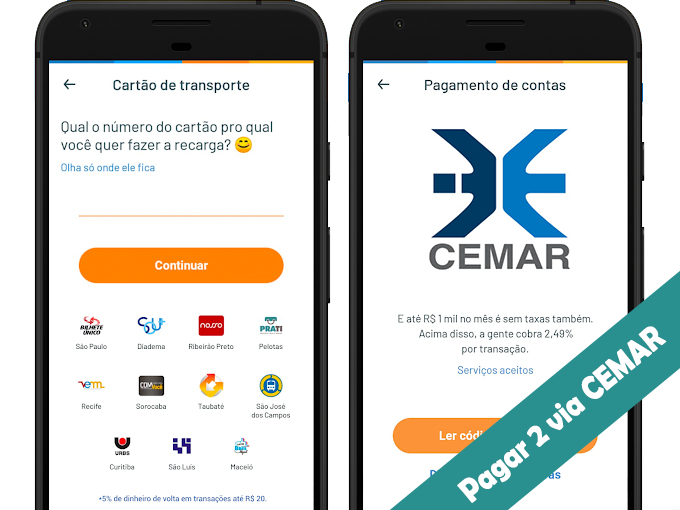 aplicativo pagamento Cemar