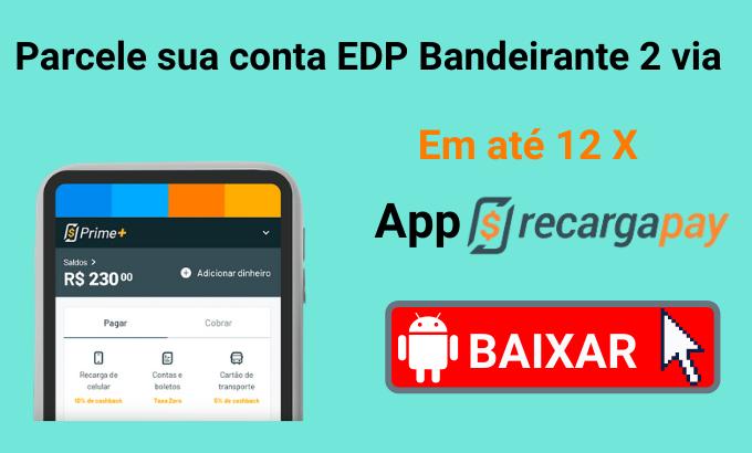 Pague sua conta com EDP