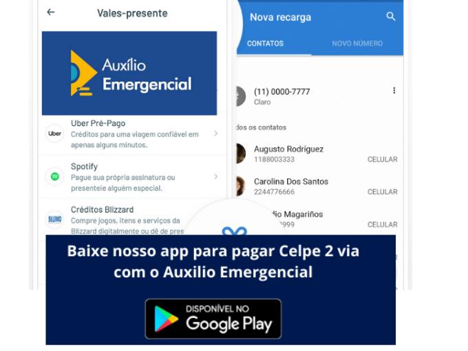 Auxilio Emergencial com RecargaPay