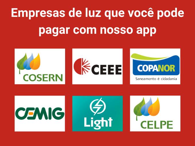Conheça as empresas de luz que podem pagar com RecargaPay