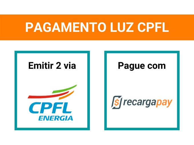 Pagamento luz CPFL