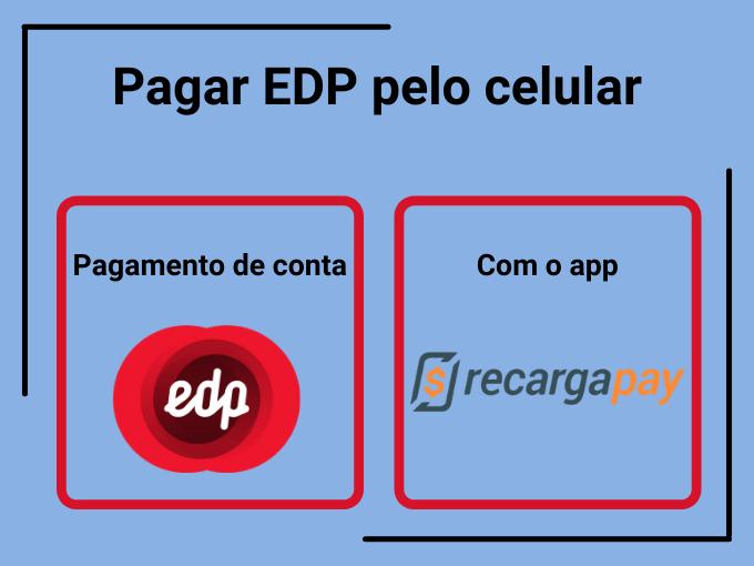 Pagar EDP pelo celular