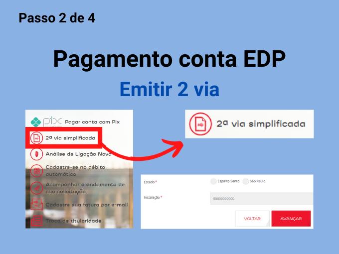 Emitir 2 via EDP